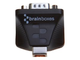 Brainboxes Ultra 1 Port RS232 Isolated USB to Serial Adapter, US-159, 33171439, Adapters & Port Converters