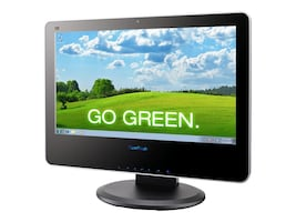 ViewSonic VPC221 AIO Core i3 3.08GHz 4GB 500GB DVDRW bgn GNIC WC 21.5 LCD W7P, VPC221B_7PUS_M1, 12389800, Desktops - All-in-One