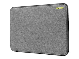 Incipio Incase Icon Sleeve with Tensaerlite for 13 MacBook Pro Retina, Heather Gray Black, CL60647, 32621215, Carrying Cases - Notebook