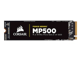 Corsair 480GB M.2 NVMe PCIe Gen 3x4 Solid State Drive, CSSD-F480GBMP500, 33426198, Solid State Drives - Internal