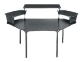 Middle Atlantic MDV Series Multi Overbridge Corner Desk, MDV-CNR3, 36963917, Furniture - Miscellaneous