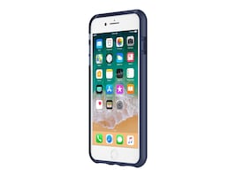 Incipio DualPro Dual Layer Protective Case for iPhone 7 Plus iPhone 8 Plus, Iridescent Midnight Blue, IPH-1491-MDNT, 34607783, Carrying Cases - Phones/PDAs