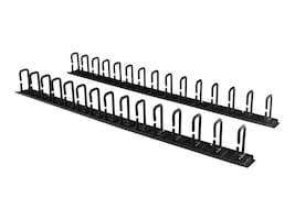 StarTech.com Server Rack Vertical Cable Management with D-Ring Hooks - 6ft, CMVER40UD, 32999779, Rack Cable Management