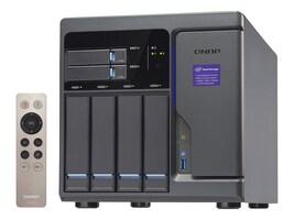 Qnap High Performance 6-Bay 4+2 NAS iSCSI IP-SAN w  Intel Skylake, TVS-682-I3-8G-US, 32116382, SAN Servers & Arrays