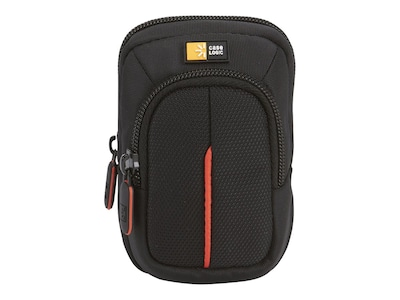 Case Logic Compact Camera Case with Storage, Black, 3201012, 11872701, Carrying Cases - Camera/Camcorder