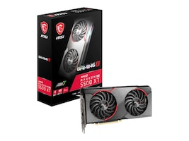 MSI Computer RX 5500 XT GAMING X 8G Main Image from Left-angle