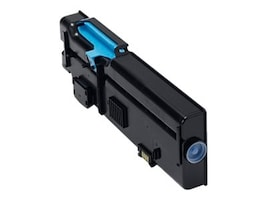 Dell 4000-page Cyan Toner Cartridge for Dell C266XDN DNF (593-BBBT), TW3NN, 16826667, Toner and Imaging Components