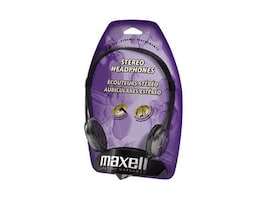 Maxell Lightweight Stereo Headphones, 190318, 6102059, Headphones