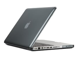 Speck Seethru Case for Macbook Pro 13, Nickel Gray, 71528-B976, 31208040, Carrying Cases - Notebook