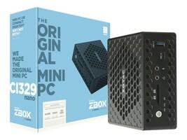 Zotac ZBOX SFF N4100 2xDDR4-2400 SATAIII, ZBOX-CI329NANO-U, 36129033, Barebones Systems