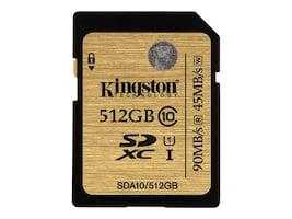 Kingston SDA10/512GB Main Image from Front