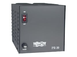 Tripp Lite 30-Amp DC Power Supply 120VAC Input to 13.8VDC Output, PR30, 5848668, AC Power Adapters (external)