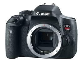 Canon EOS Rebel T6i DSLR Camera, Black (Body Only), 0591C001, 18924800, Cameras - Digital
