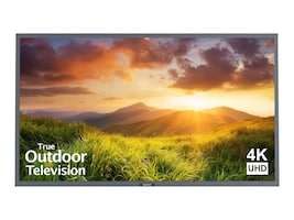 75 Signature Series 4K Ultra HD Partial Sun Outdoor TV, Silver, SB-S-75-4K-SL, 35399171, Televisions - Commercial