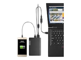 Lenovo USB-C Laptop Power Bank 14000mAh, 40AL140CWW, 35536542, Battery Chargers