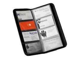 Samsill 160-Card Business Card Book, Black, 80850, 33798127, Office Supplies