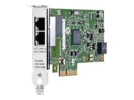 HPE 2-Port 1000Base-T PCIe 2.1 x4 NIC (HP 652497-B21), 652497-B21, 14367671, Network Adapters & NICs