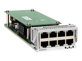 Netgear 8-Port 100M 1G 2.5G 5G 10GBase-T PoE+ Port Card for M4300-96X (Worldwide), APM408P-10000S, 35092259, Network Device Modules & Accessories