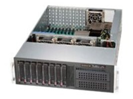 Supermicro SuperChassis 835XTQ-R982B 3U Chassis, Black, CSE-835XTQ-R982B, 14553554, Cases - Systems/Servers