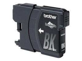 Brother Black Innobella LC61BK Standard Yield Ink Cartridge, LC61BK, 8688807, Ink Cartridges & Ink Refill Kits