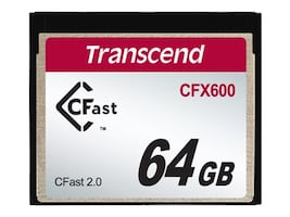 Transcend Information TS64GCFX600 Main Image from Front