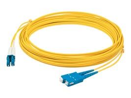 AddOn Fiber Patch Cable, LC-SC, 9 125, Singlemode, Duplex, 3m, ADD-SC-LC-3M9SMF, 14483533, Cables
