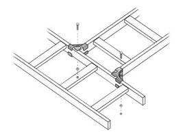 Black Box 90-degree Junction Splice Kit, RM656, 7966705, Premise Wiring Equipment
