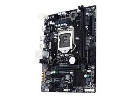 Gigabyte Tech Motherboard, Micro ATX H110 LGA1151 Core i7 i5 i3 Family Max.32GB DDR4 4xSATA 3xPCIe GbE, GA-H110M-A, 30688862, Motherboards