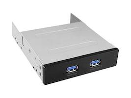 Vantec 2-Port USB 3.0 Front Panel, UGT-IH203, 17433742, USB & Firewire Hubs
