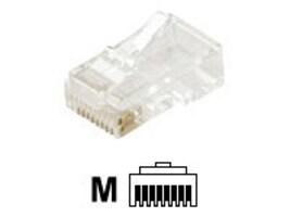Steren Modular Cat5e Round Stranded 8C Plug RJ4, 301-172, 35257471, Premise Wiring Equipment