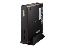 Shuttle NC01U Mini PC Celeron 3205U 2GB 32GB mSATA SSD W10H, NC01UWIN10HE, 30902304, Desktops