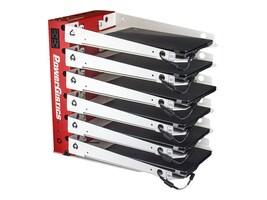 PowerGistics CUST Desktop 6 Plus Devices, PGD0614, 35604040, Charging Stations