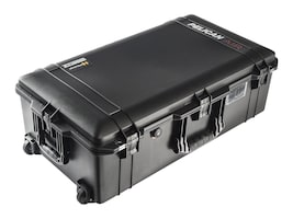 Pelican 1615AIR Case  w  Liner, w  Foam, Black, 016150-0000-110, 32034619, Carrying Cases - Other