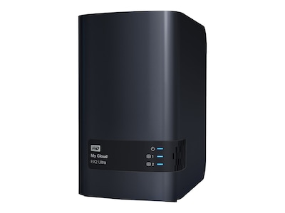 WD WD My Cloud EX2 Ultra Private Cloud NAS Storage - Diskless, WDBVBZ0000NCH-NESN, 31756177, Network Attached Storage