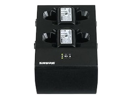 Shure Dual-Docking Battery Charger w  PS45 Power Supply, SBC200-US, 34775947, Battery Chargers