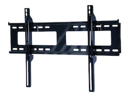 Peerless Universal Flat Wall Mount for 37-75 Displays, Black, PF650, 8446314, Stands & Mounts - AV