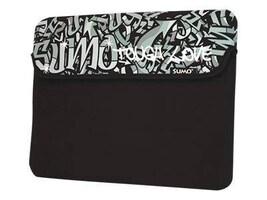 Mobile Edge 10 Graffiti Netbook Sleeve, Black, ME-SUMO77101, 9740638, Protective & Dust Covers