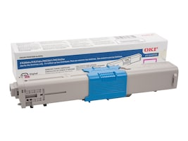 Oki Magenta High Capacity Toner Cartridge for C530dn Series Printers, 44469720, 11695119, Toner and Imaging Components - OEM