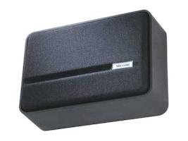Valcom One-Way Simline Amplified Wall Speaker - Black, V-1042-BK, 16450532, Speakers - Audio