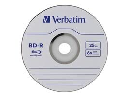 Verbatim 6x 25GB BD-R Branded Media (50-pack Spindle), 98397, 16493102, Blu-Ray Media