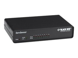 Black Box 8-port AlertWerks ServSensor 10 100-Mbps RJ-45, EME110A-R2, 31878158, Environmental Monitoring - Indoor