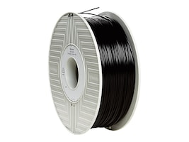 Verbatim 1.75mm Black 1Kg PLA 3D Filament, 55250, 30905370, Printer Supplies - 3D