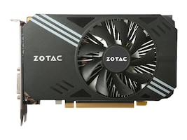 Zotac GeForce GTX 1060 Mini Edition PCIe 3.0 Graphics Card, 6GB GDDR5, ZT-P10600A-10L, 32395211, Graphics/Video Accelerators