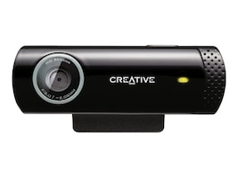 Creative Labs Creative Live! Cam Chat HD 720p USB Webcam, 73VF070000001, 37446268, WebCams & Accessories