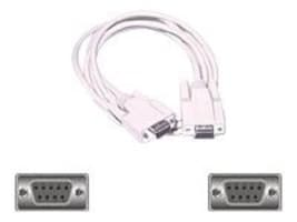 C2G DB9 F-F Null Modem Cable, 6ft, 03044, 131239, Cables