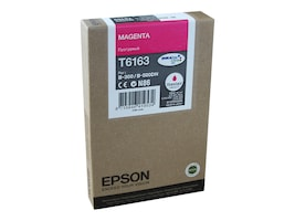 Epson Magenta Ink Cartridge for B-300 & B-500DN Business Color Ink Jet Printer, T616300, 10062045, Ink Cartridges & Ink Refill Kits - OEM