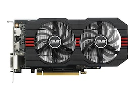 Asus AMD Radeon R7 360 PCIe 3.0 Overclocked Graphics Card, 2GB GDDR5, R7360-OC-2GD5-V2, 31118141, Graphics/Video Accelerators