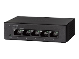 Cisco SG110D05 5-Port Gigabit Switch, SG110D-05-NA, 18793361, Network Switches