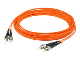 ACP-EP Fiber Patch Cable, ST-ST, 62.5 125, Duplex, Multimode, 3m, ADD-ST-ST-3M6MMF, 14483576, Cables
