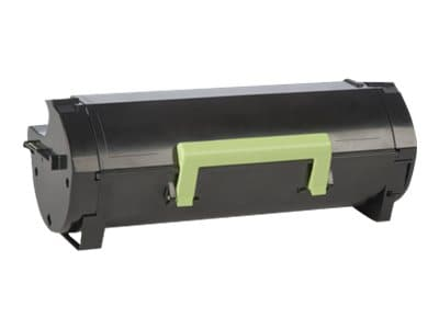 Lexmark 501H Black High Yield Return Program Toner Cartridge, 50F1H00, 14909215, Toner and Imaging Components